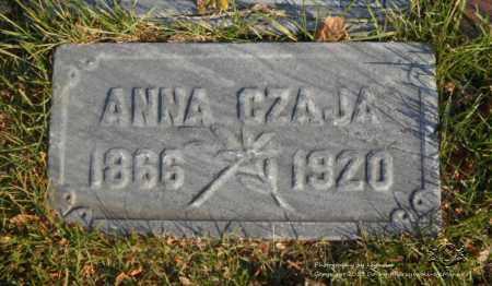 CZAJA, ANNA - Lucas County, Ohio | ANNA CZAJA - Ohio Gravestone Photos