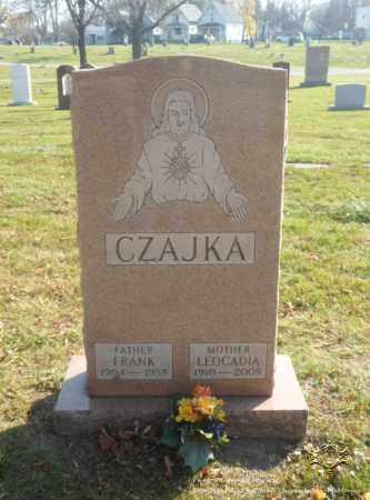CZAJKA, FRANK - Lucas County, Ohio | FRANK CZAJKA - Ohio Gravestone Photos