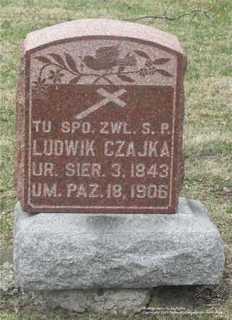 CZAJKA, LUDWIK - Lucas County, Ohio | LUDWIK CZAJKA - Ohio Gravestone Photos