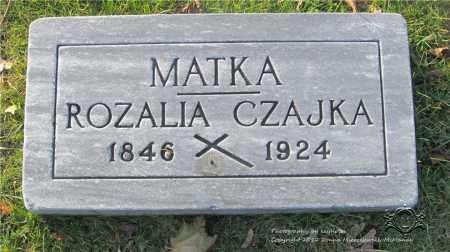 NOWAKOWSKI CZAJKA, ROZALIA - Lucas County, Ohio | ROZALIA NOWAKOWSKI CZAJKA - Ohio Gravestone Photos