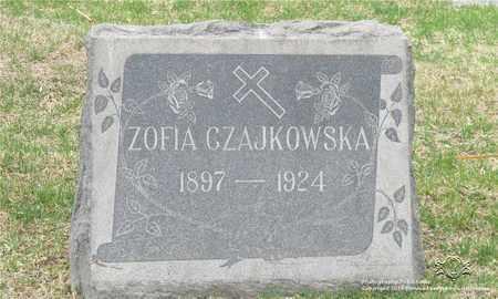 CZAJKOWSKA, ZOFIA - Lucas County, Ohio | ZOFIA CZAJKOWSKA - Ohio Gravestone Photos