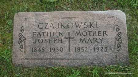 SUCHOCKI CZAJKOWSKI, MARY - Lucas County, Ohio | MARY SUCHOCKI CZAJKOWSKI - Ohio Gravestone Photos