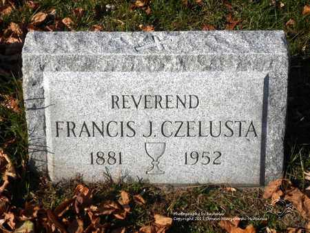 CZELUSTA, FRANCIS J. - Lucas County, Ohio | FRANCIS J. CZELUSTA - Ohio Gravestone Photos