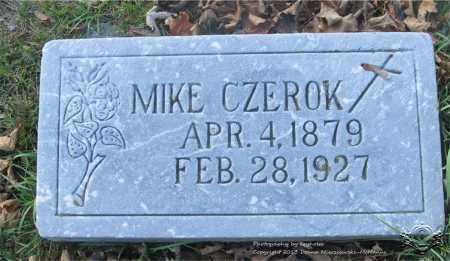 CZEROCK, MIKE - Lucas County, Ohio | MIKE CZEROCK - Ohio Gravestone Photos