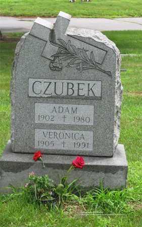 CZUBEK, ADAM - Lucas County, Ohio | ADAM CZUBEK - Ohio Gravestone Photos