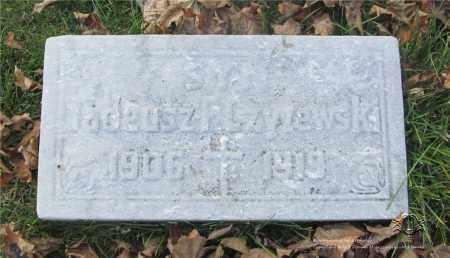 CZYZEWSKI, TADEUSZ - Lucas County, Ohio | TADEUSZ CZYZEWSKI - Ohio Gravestone Photos