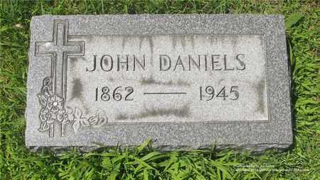 DANIELS, JOHN - Lucas County, Ohio | JOHN DANIELS - Ohio Gravestone Photos
