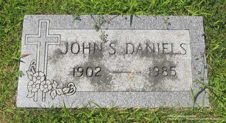DANIELS, JOHN S. - Lucas County, Ohio   JOHN S. DANIELS - Ohio Gravestone Photos