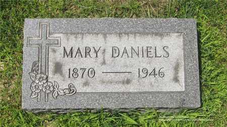 DANIELS, MARY - Lucas County, Ohio | MARY DANIELS - Ohio Gravestone Photos