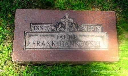 DANKOWSKI, FRANK - Lucas County, Ohio | FRANK DANKOWSKI - Ohio Gravestone Photos