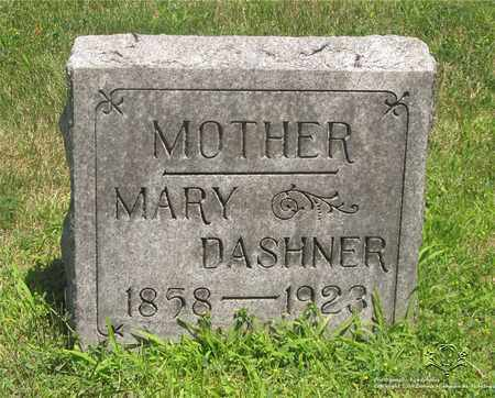 WEINBERGER DASHNER, MARY - Lucas County, Ohio | MARY WEINBERGER DASHNER - Ohio Gravestone Photos