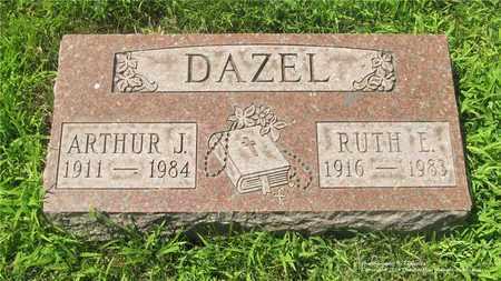 DAZEL, ARTHUR J. - Lucas County, Ohio   ARTHUR J. DAZEL - Ohio Gravestone Photos