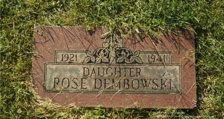 DEMBOWSKI, ROSE - Lucas County, Ohio   ROSE DEMBOWSKI - Ohio Gravestone Photos