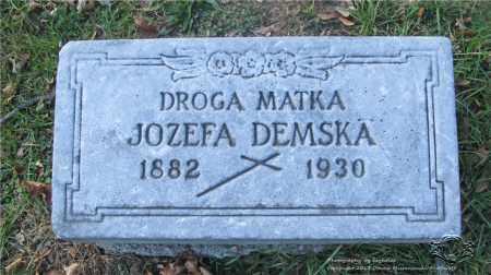 GRADZIELEWSKI DEMSKA, JOZEFA - Lucas County, Ohio | JOZEFA GRADZIELEWSKI DEMSKA - Ohio Gravestone Photos