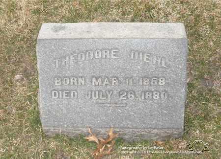DIEHL, THEODORE - Lucas County, Ohio | THEODORE DIEHL - Ohio Gravestone Photos