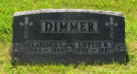 DIMMER, LOTTIE B. - Lucas County, Ohio | LOTTIE B. DIMMER - Ohio Gravestone Photos