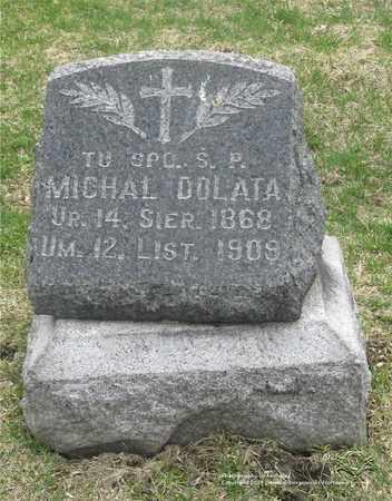 DOLATA, MICHAL - Lucas County, Ohio | MICHAL DOLATA - Ohio Gravestone Photos