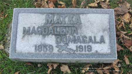 JEZIORWOSKI DOMAGALA, MAGDALENA - Lucas County, Ohio | MAGDALENA JEZIORWOSKI DOMAGALA - Ohio Gravestone Photos