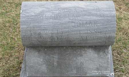 DOMAN, WLADYSLAW - Lucas County, Ohio   WLADYSLAW DOMAN - Ohio Gravestone Photos