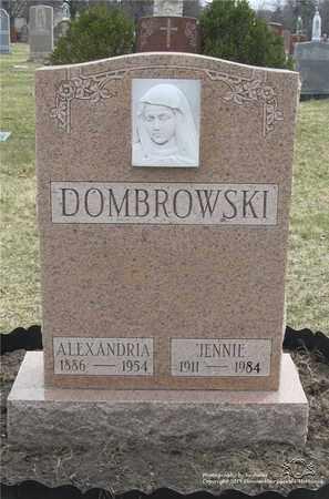 DOMBROWSKI, ALEXANDRIA - Lucas County, Ohio   ALEXANDRIA DOMBROWSKI - Ohio Gravestone Photos