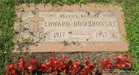 DOMBROWSKI, EDWARD - Lucas County, Ohio   EDWARD DOMBROWSKI - Ohio Gravestone Photos