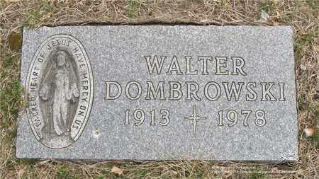 DOMBROWSKI, WALTER - Lucas County, Ohio | WALTER DOMBROWSKI - Ohio Gravestone Photos