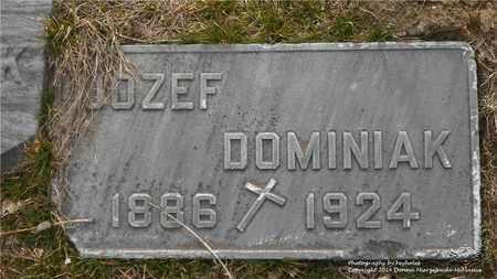 DOMINIAK, JOZEF - Lucas County, Ohio | JOZEF DOMINIAK - Ohio Gravestone Photos