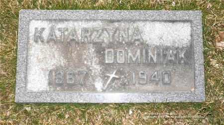 SOBOCINSKI DOMINIAK, KATARZYNA - Lucas County, Ohio   KATARZYNA SOBOCINSKI DOMINIAK - Ohio Gravestone Photos