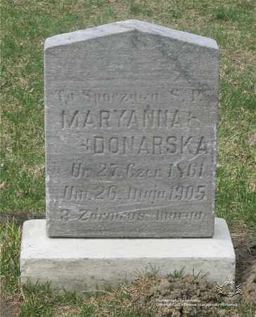 DONARSKA, MARYANNA - Lucas County, Ohio   MARYANNA DONARSKA - Ohio Gravestone Photos