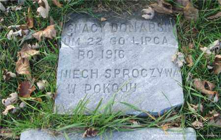 DONARSKI, IGNACY - Lucas County, Ohio   IGNACY DONARSKI - Ohio Gravestone Photos