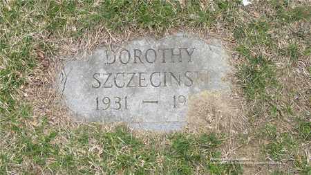 SZCZECINSKI, DOROTHY - Lucas County, Ohio | DOROTHY SZCZECINSKI - Ohio Gravestone Photos