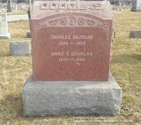 DOUGLAS, CHARLES - Lucas County, Ohio   CHARLES DOUGLAS - Ohio Gravestone Photos