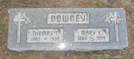 DOWNEY, THOMAS T. - Lucas County, Ohio | THOMAS T. DOWNEY - Ohio Gravestone Photos