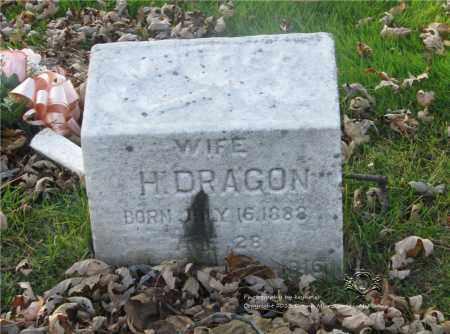 DRAGON, MARTHA - Lucas County, Ohio | MARTHA DRAGON - Ohio Gravestone Photos