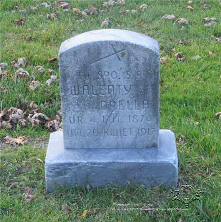 DRELLA, WALENTY - Lucas County, Ohio | WALENTY DRELLA - Ohio Gravestone Photos