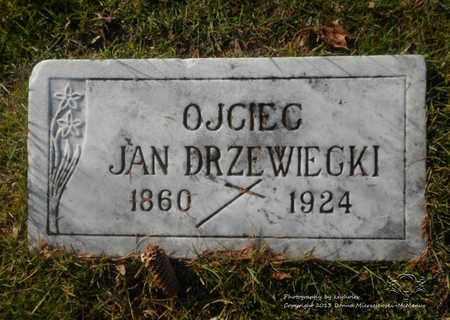 DRZEWIECKI, JAN - Lucas County, Ohio   JAN DRZEWIECKI - Ohio Gravestone Photos