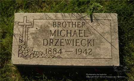 DRZEWIECKI, MICHAEL - Lucas County, Ohio | MICHAEL DRZEWIECKI - Ohio Gravestone Photos