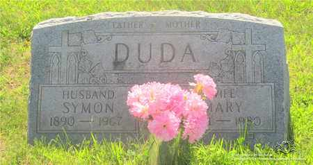DUDA, SYMON - Lucas County, Ohio | SYMON DUDA - Ohio Gravestone Photos