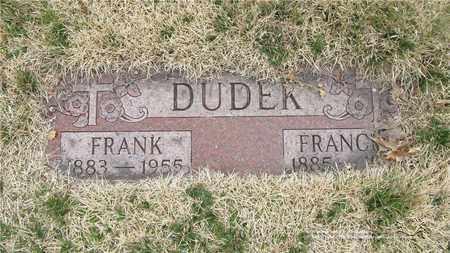 DUDEK, FRANK - Lucas County, Ohio | FRANK DUDEK - Ohio Gravestone Photos