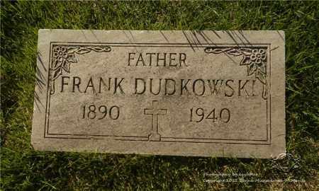 DUDKOWSKI, FRANK - Lucas County, Ohio | FRANK DUDKOWSKI - Ohio Gravestone Photos