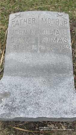 DUMAS, JULIA - Lucas County, Ohio   JULIA DUMAS - Ohio Gravestone Photos