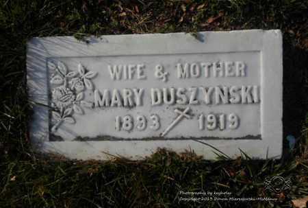 MACIEJEWSKI DUSZYNSKI, MARY - Lucas County, Ohio   MARY MACIEJEWSKI DUSZYNSKI - Ohio Gravestone Photos