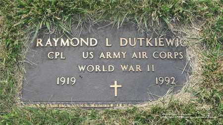 DUTKIEWICZ, RAYMOND L. - Lucas County, Ohio   RAYMOND L. DUTKIEWICZ - Ohio Gravestone Photos