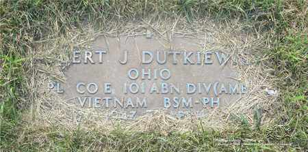 DUTKIEWICZ, ROBERT J. - Lucas County, Ohio | ROBERT J. DUTKIEWICZ - Ohio Gravestone Photos
