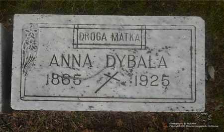 WOJCIECHOWSKI DYBALA, ANNA - Lucas County, Ohio | ANNA WOJCIECHOWSKI DYBALA - Ohio Gravestone Photos