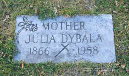 JADCZAK DYBALA, JULIA - Lucas County, Ohio | JULIA JADCZAK DYBALA - Ohio Gravestone Photos
