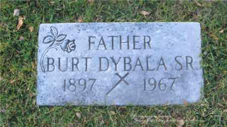 DYBALA, BURT - Lucas County, Ohio | BURT DYBALA - Ohio Gravestone Photos