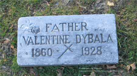 DYBALA, VALENTINE - Lucas County, Ohio | VALENTINE DYBALA - Ohio Gravestone Photos