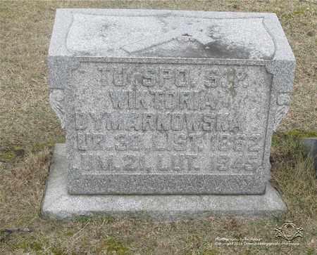 DYMARKOWSKA, WIKTORYA - Lucas County, Ohio | WIKTORYA DYMARKOWSKA - Ohio Gravestone Photos