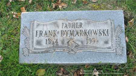 DYMARKOWSKI, FRANK - Lucas County, Ohio | FRANK DYMARKOWSKI - Ohio Gravestone Photos
